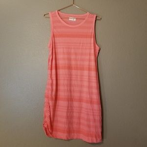 Lou and Grey Striped Coral Tank Dress